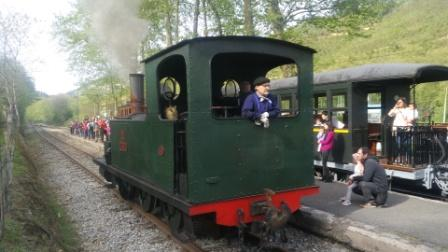 BASQUE RAILWAY MUSEUM + TRIP IN A STEAM TRAIN